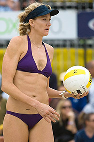 Kerri Walsh and Casey Jennings